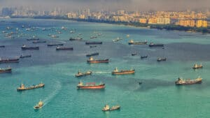 port congestion in asia