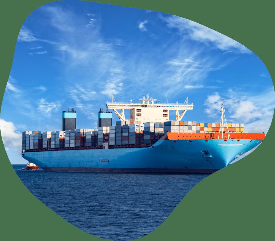 ship arrives at port