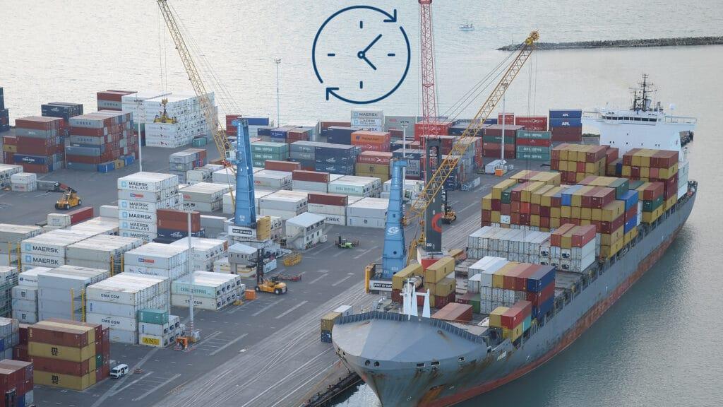 vessel turnaround time