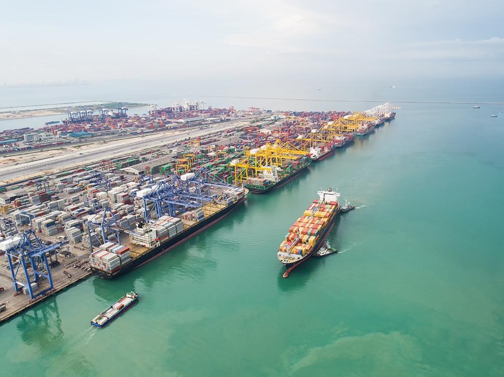 smart port data technology