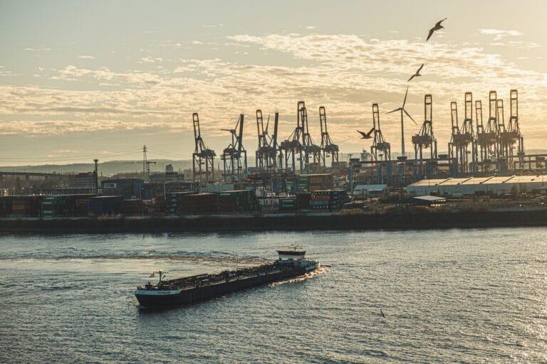 Digital smart Port technologies data automation
