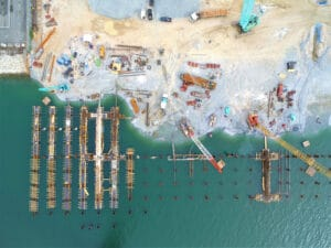 dreging sediment water port